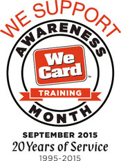 We Card Training Month