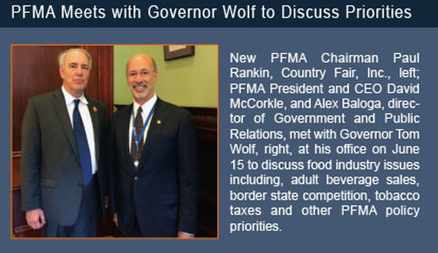 PFMA meets with Governor Wolf