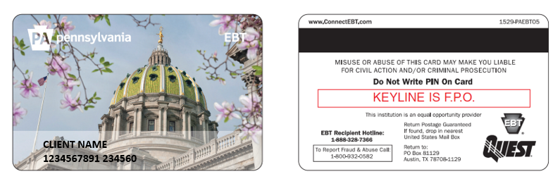 Pennsylvania Ebt Cards Undergo Redesign Pennsylvania Food